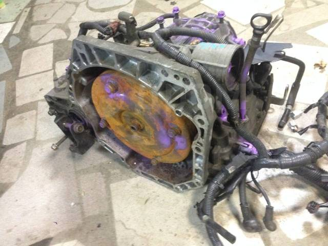 Вариатор. Nissan: Wingroad, Tiida Latio, Tiida, March, Latio, Note Двигатель HR15DE
