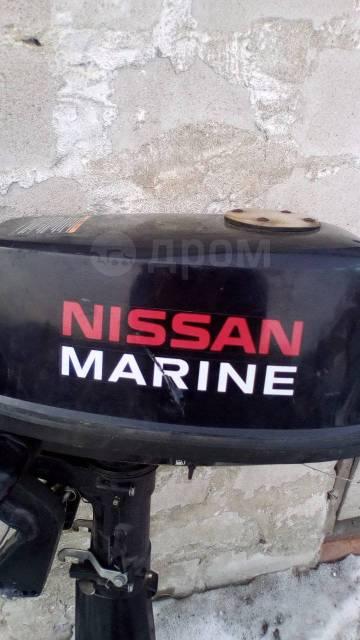 мотор nissan marine 5 л.с