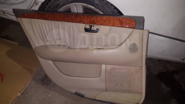 Решетка под дворники. Toyota Celsior, UCF30 Lexus LS430, UCF30