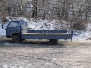 Бортовой грузовик до 3 тон . аппарель 500кг.