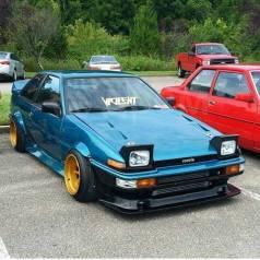 Бампер. Toyota Sprinter Trueno, AE86