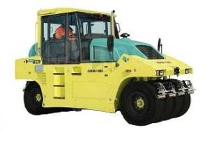 Ammann. Пневмоколёсный каток модель AP 240 H, 3 300куб. см.