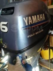 Yamaha. 6,00л.с., 4-тактный, бензиновый, нога L (508 мм), 2008 год год