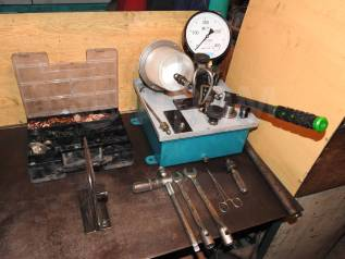 Ремонт топливной системы, ТНВД, форсунок (диз).