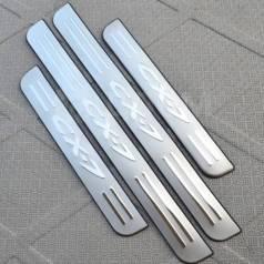 Накладка на порог. Mazda CX-7, ER, ER19, ER3P Двигатели: L3VDT, L5VE, R2AA
