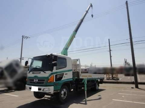 Hino Ranger. Купить грузовик с манипулятором HINO Ranger, 7 680куб. см., 7 800кг., 4x2. Под заказ