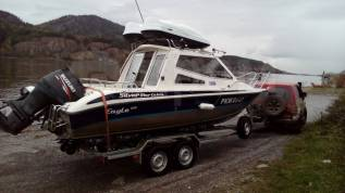 Silver Star Cabine. 2008 год год, длина 6,50м., двигатель подвесной, 175,00л.с., бензин