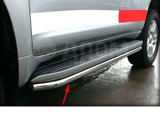 Накладки на пороги. Toyota Land Cruiser Prado, GDJ150, GDJ150L, GDJ150W, GRJ150, GRJ150L, GRJ150W, KDJ150, KDJ150L, LJ150, TRJ150, TRJ150L, TRJ150W
