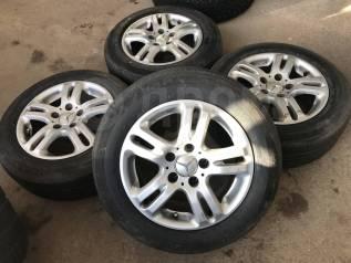 "195/65R15 Bridgestone на литье Mercedes (Е15). 7.0x15"" 5x112.00 ET37"