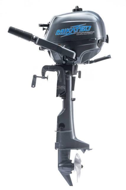 Mikatsu. 3,50л.с., 4-тактный, бензиновый, нога S (381 мм), 2017 год год