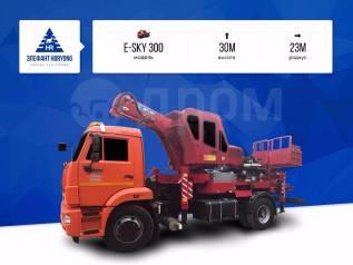 Elephant E-Sky 300. Автовышка Elephant-Horyong E-SKY 300, 30м. Под заказ