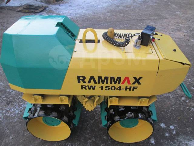 Ammann Rammax. Каток траншейный грунтовой rammax (раммакс, амман), 1 000куб. см.