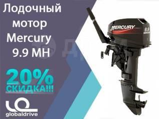 Mercury. 9,90л.с., 2-тактный, бензиновый, нога S (381 мм), 2016 год год