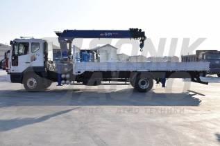 Daewoo Novus. Продам Новый грузовик с крановой установкой , 7 640куб. см., 7 000кг.