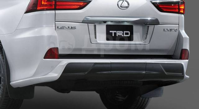Обвес кузова аэродинамический. Lexus LX450d Lexus LX570 Lexus LX450