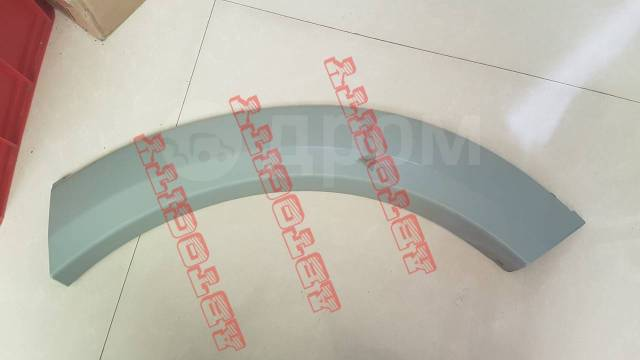 Накладка (расширитель) на заднее крыло Mitsubishi Pajero Sport. Mitsubishi Pajero Sport, KH4W, KH6W Двигатели: 4D56, 6B31