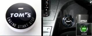 Кнопка запуска двигателя. Toyota: Ractis, Crown, Auris, Vitz, Corolla Axio, C-HR, Corolla Fielder, Aqua. Под заказ