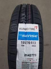 Kumho Sense KR26. Летние, 2018 год, без износа, 4 шт