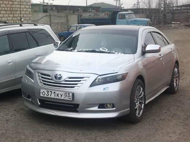Обвес кузова аэродинамический. Toyota Camry, ACV40, GSV40 Двигатели: 2AZFE, 2GRFE
