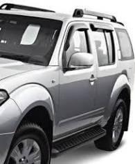 Ветровик на дверь. Nissan Pathfinder, R51, R51M Двигатели: VQ40DE, YD25