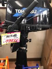 Tohatsu. 5,00л.с., 4-тактный, бензиновый, нога L (508 мм), 2006 год год