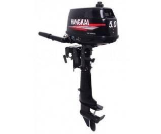 Hangkai. 5,00л.с., 2-тактный, бензиновый, нога S (381 мм), 2017 год год