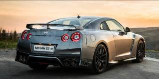 Nissan Skyline. Без водителя