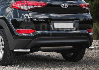 Защита бампера. Hyundai Tucson, TL Двигатели: D4HA, G4FD, G4FJ, G4NA. Под заказ