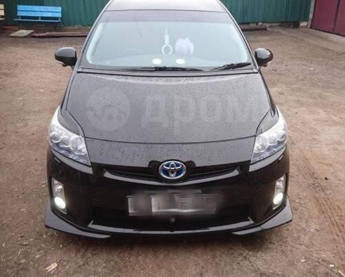 Накладка на фару. Toyota Prius, ZVW30, ZVW30L, ZVW35 Двигатель 2ZRFXE