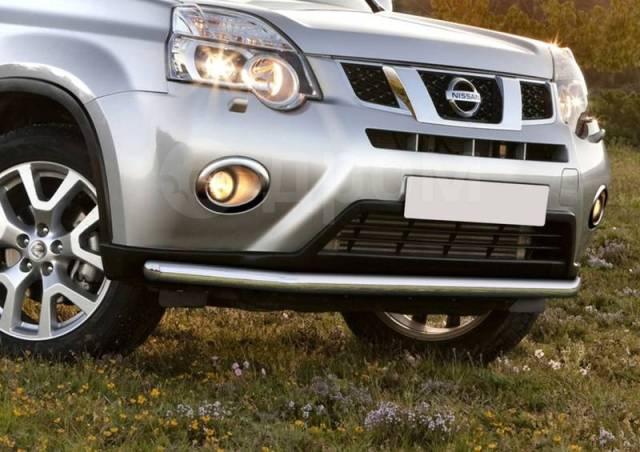 Защита бампера. Nissan X-Trail, DNT31, HNT32, HT32, NT31, NT32, T31, T32, TNT31 Двигатели: M9R, MR20DD, MR20DE, QR25DE, R9M. Под заказ