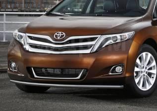 Защита бампера. Toyota Venza, AGV10, AGV15, GGV10, GGV15 Двигатели: 1ARFE, 2GRFE. Под заказ