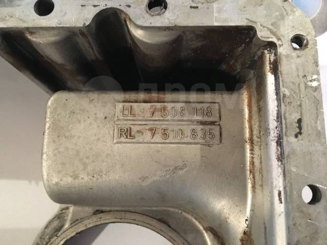Масляный картер. BMW 7-Series, E65, E66 Двигатели: M62TUB35, N62B36, N62B40, N62B44, N62B48