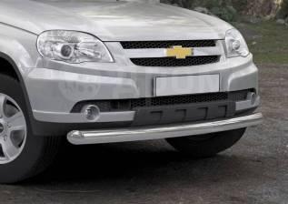 Защита бампера. Chevrolet Niva, 21236 Двигатель BAZ2123. Под заказ