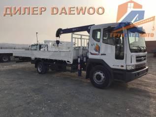 Daewoo Novus. 7 тонн с КМУ DongYang 814 - 2018 год в наличии, 5 890куб. см., 3 770кг., 4x2
