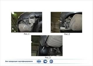 Защита бампера. Chevrolet Captiva, C140 Двигатели: A24XE, A30XH, A22DMH, LE5, LF1. Под заказ