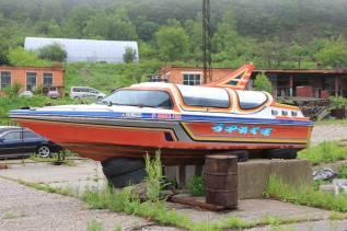 Продам катер. 2004 год год, длина 6,50м., двигатель стационарный, 250,00л.с., бензин