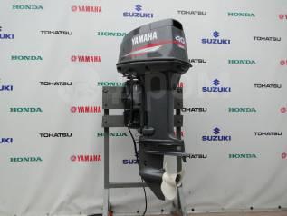 Yamaha. 40,00л.с., 2-тактный, бензиновый, нога L (508 мм), 2002 год год