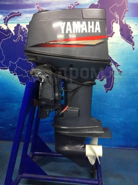 Yamaha. 70,00л.с., 2-тактный, бензиновый, нога L (508 мм), 2002 год год