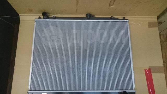 Радиатор охлаждения двигателя. Mitsubishi Pajero, V25C, V25W, V45W, V55W, V63W, V65W, V73W, V75W, V83W, V93W Mitsubishi MT Mitsubishi Montero, V25W, V...