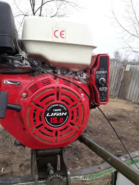 Лодочный мотор болотоход. 15,00л.с., 4-тактный, бензиновый, нога S (381 мм), 2016 год год