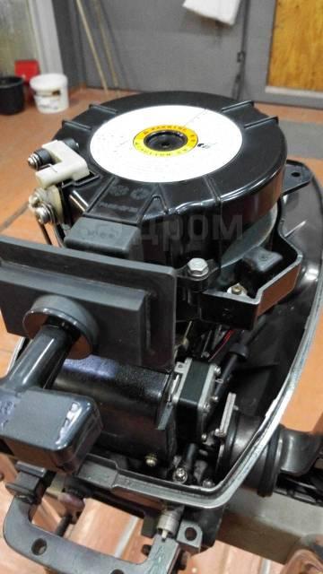 Tohatsu. 5,00л.с., 2-тактный, бензиновый, нога S (381 мм)