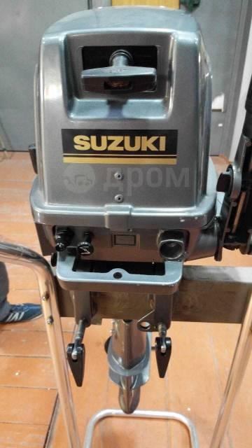 Suzuki. 5,00л.с., 2-тактный, бензиновый, нога S (381 мм)