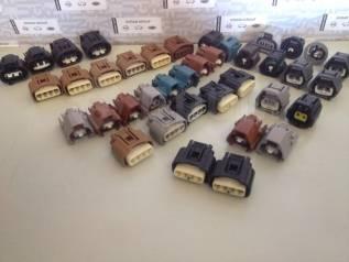 Разъем. Toyota: Pixis Space, Crown, Sienta, Mark X, Vitz, Corolla Axio, Avensis, Porte, Camry, Passo Sette, Passo, Pixis Truck, Auris, Spade, Sai, Pix...