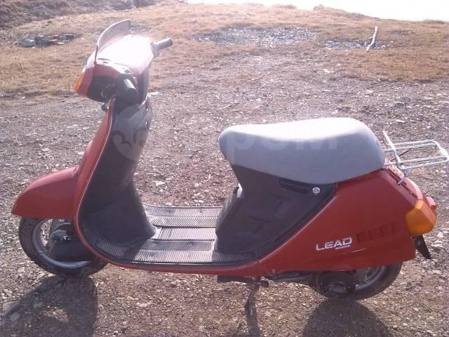 Honda Lead. 50куб. см., исправен, без птс, с пробегом