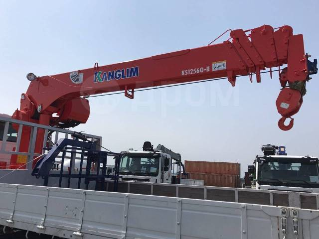 Daewoo Novus. 8 тонн DL-06 2018 года с КМУ Kanglim KS1256, 5 890куб. см., 8 000кг.