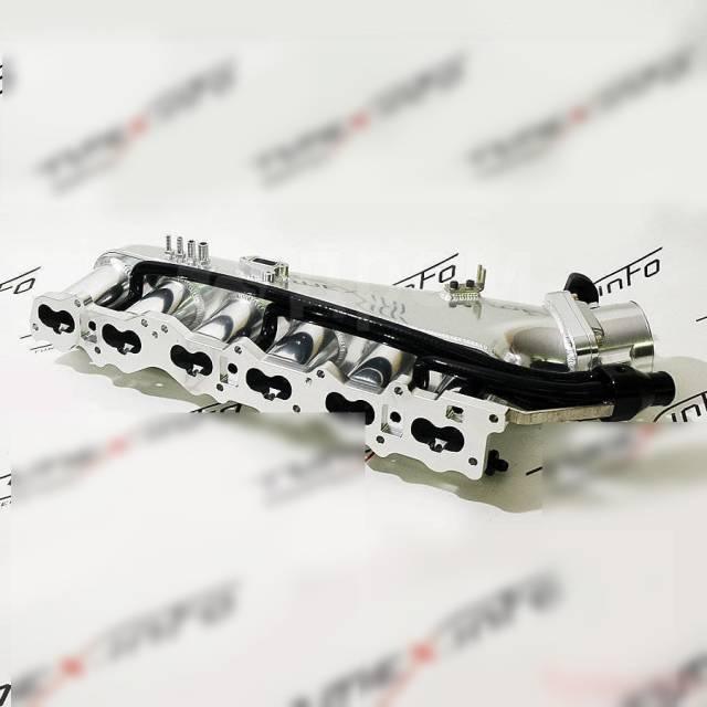 Коллектор впускной. Nissan: Skyline, Laurel, Cedric, Leopard, Figaro, Stagea, Gloria, Cefiro, Rasheen Двигатели: RB25DE, RB25DET, RB25D
