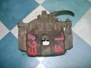 Суппорт тормозной. Honda CR-X del Sol, EG1 Honda Civic, EG4, EG5, EY2, EY4 Honda Domani, MA4, MA7 Honda Civic Ferio, EG7, EG8 Двигатели: D13B, D15B, Z...