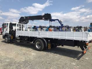 Daewoo Novus. 8 тонн 2018 год с КМУ HTS 2076 (аналог Hiab 190), 7 640куб. см., 4x2