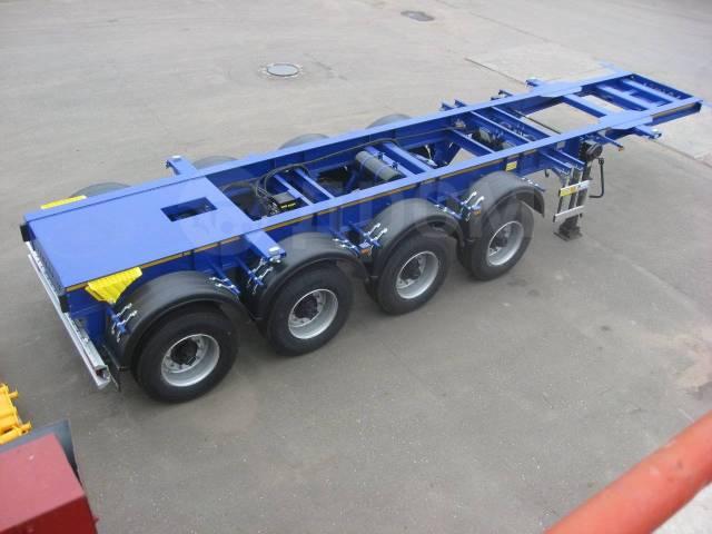 Steelbear. 4-х осный контейнеровоз SteelBear PF-41L-2 под 40-ку, 44 200кг.