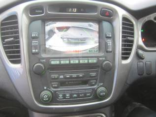 Магнитола. Toyota Kluger V, MHU28, MHU28W Двигатель 3MZFE